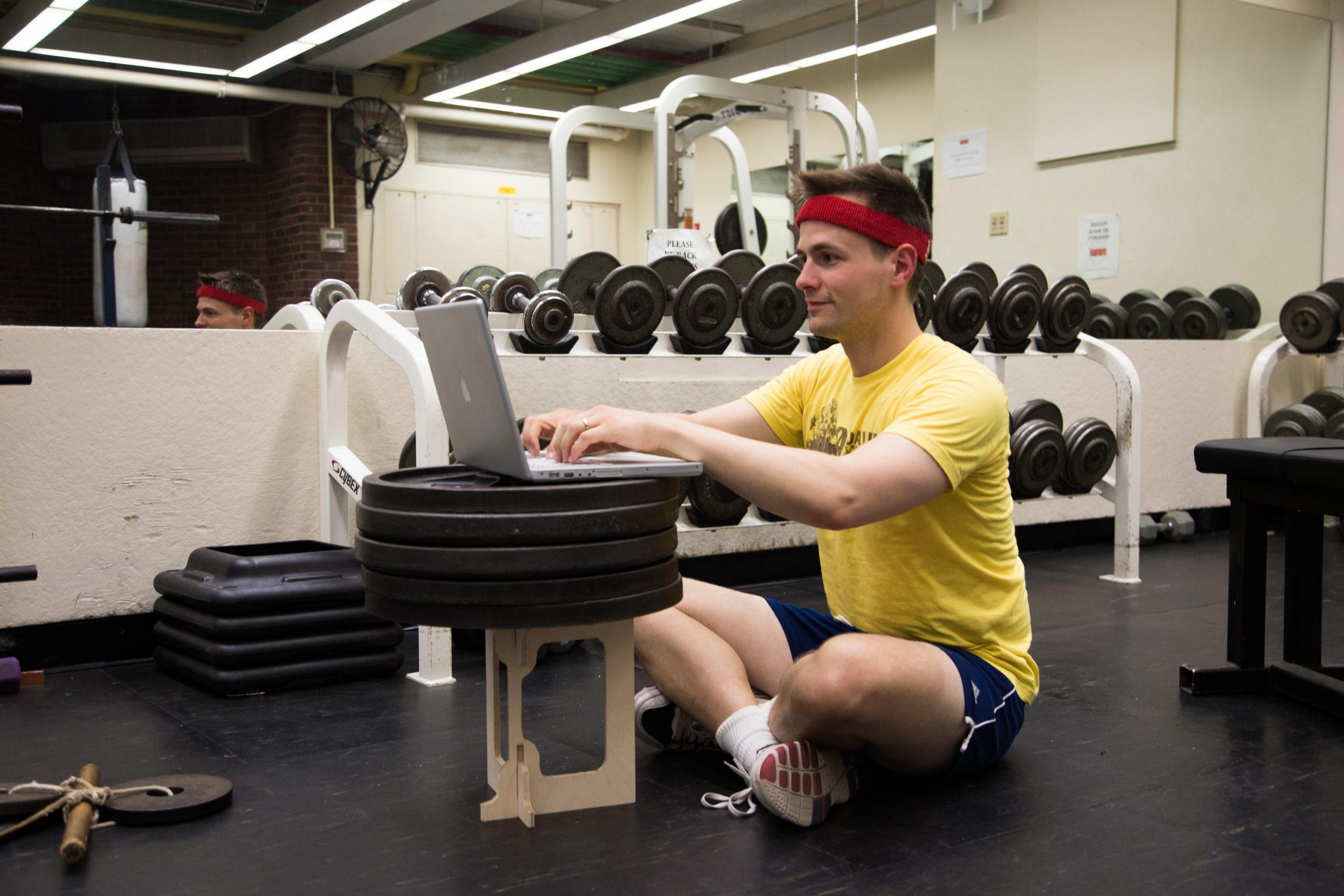 Luke with Baltic Birch Weight Test