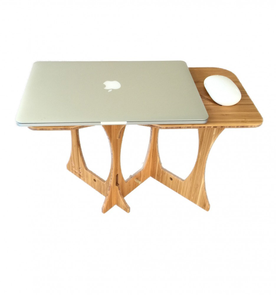 mouse standing desk 5 bamboo