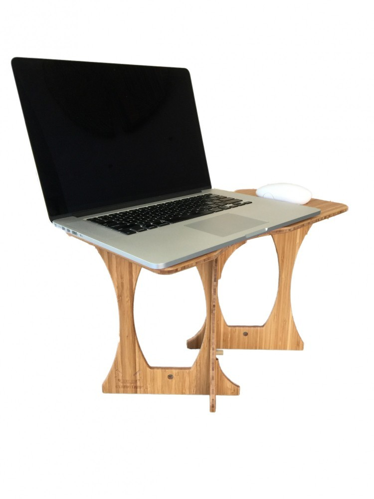 portable mouse standing desk 6
