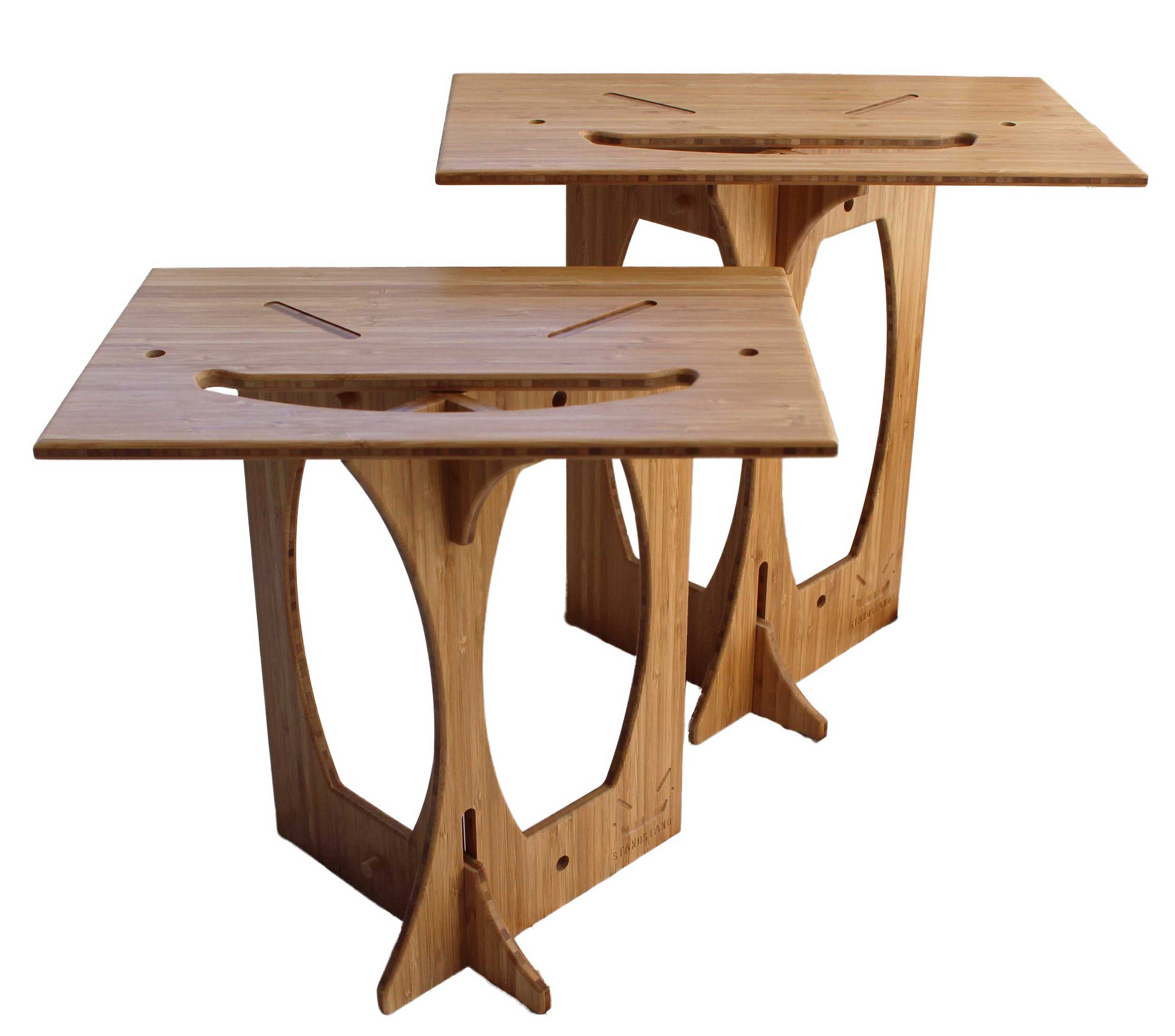 Becca stool bamboo furniture modern bamboo Multifunctional Product Description Target Standstand De Luxe In Bamboo Standstand Portable Standing Desk