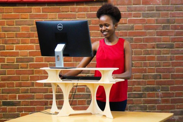 best standing desk on the market!